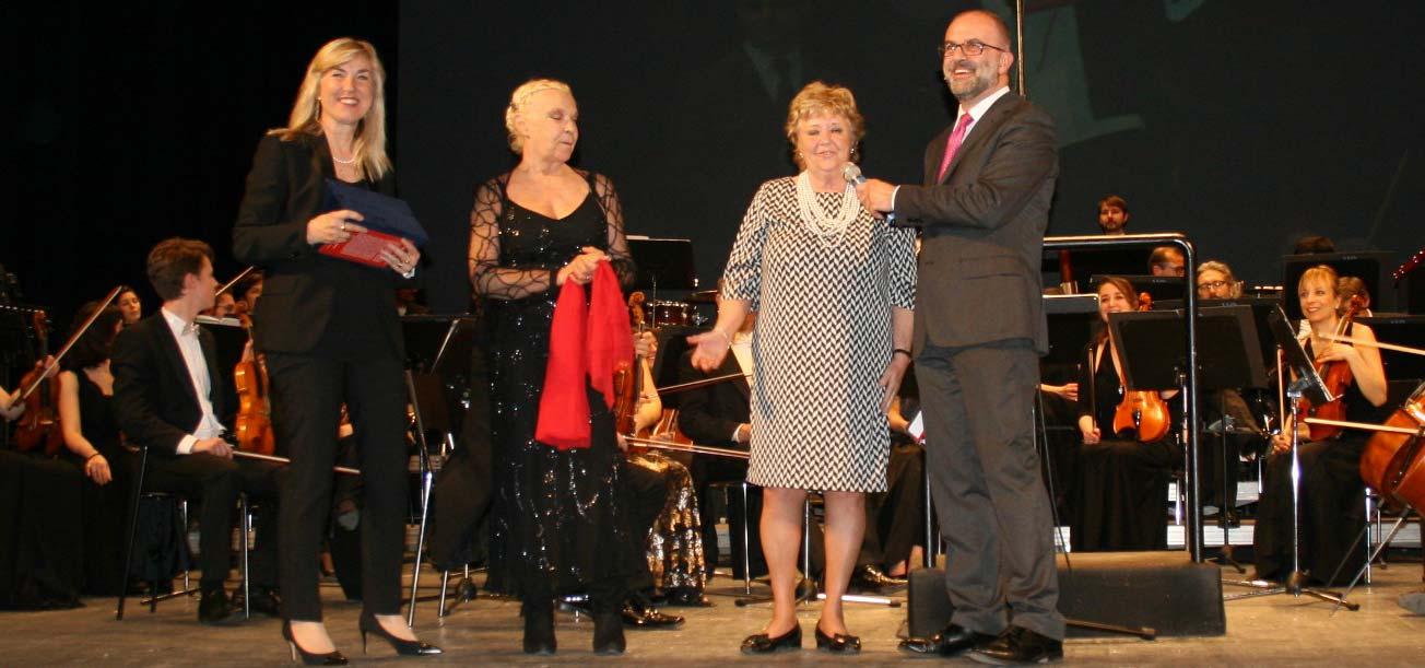 Trieste – Premio operetta a Elena Zilio